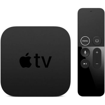 Image of Apple TV 5th Gen 4K 64GB With Remote and Power Supply