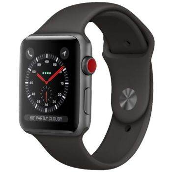 Image of Watch Series 3 Stainless GPS + Cellular 42mm with Charger & Strap