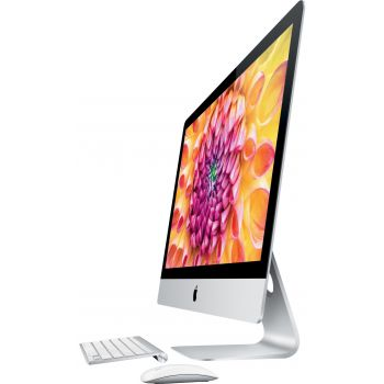 Image of iMac 21.5-inch (2014) with Keyboard and Mouse